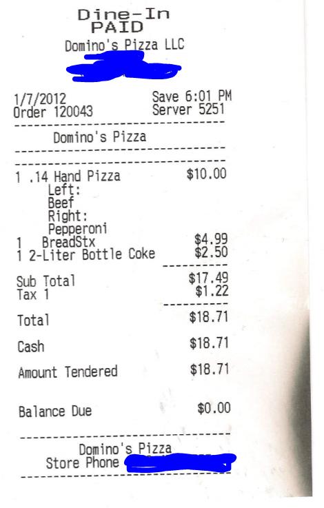 Politically Balanced Pizza